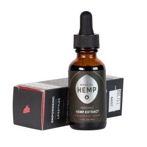 Made by Hemp – Hemp Extract Tincture (1oz, 1000mg CBD)