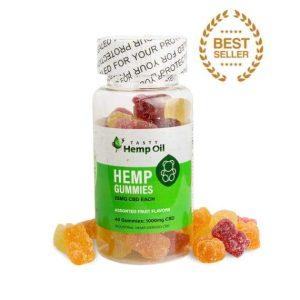 Tasty Hemp Oil – CBD Gummies 40 Count (25mg CBD Each)