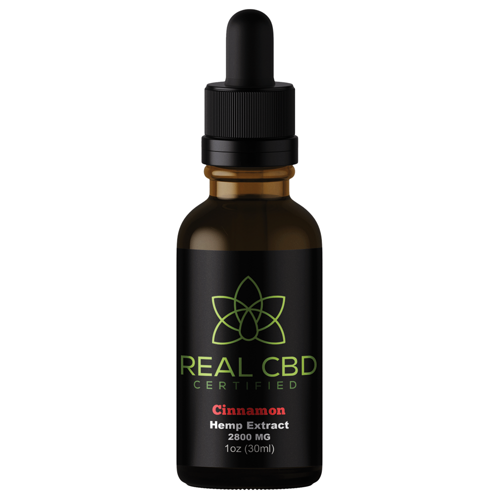 Real CBD Oil Cinnamon